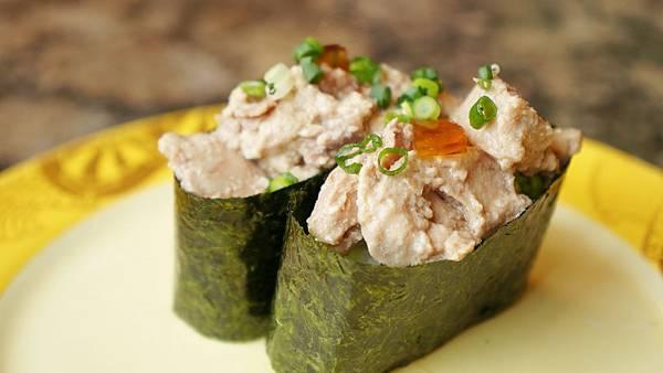 鮟鱇魚肝軍艦壽司