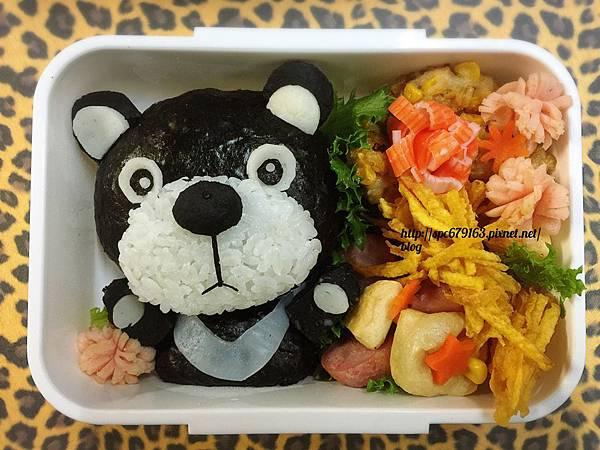 台灣黑熊-藝術便當