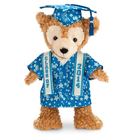 duffy-graduate plush