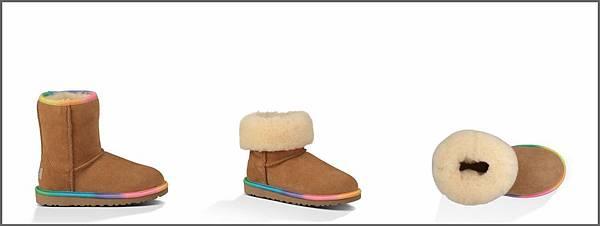 kids ugg rainbow boots