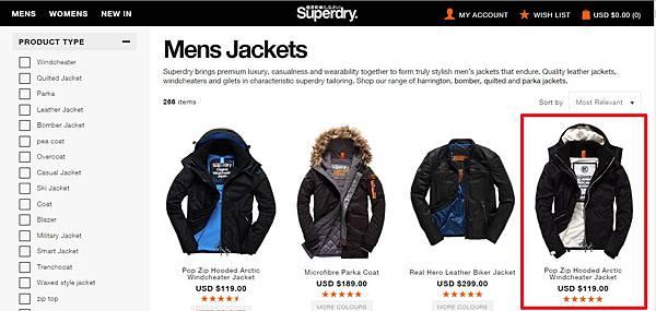 6商品分類-男夾克