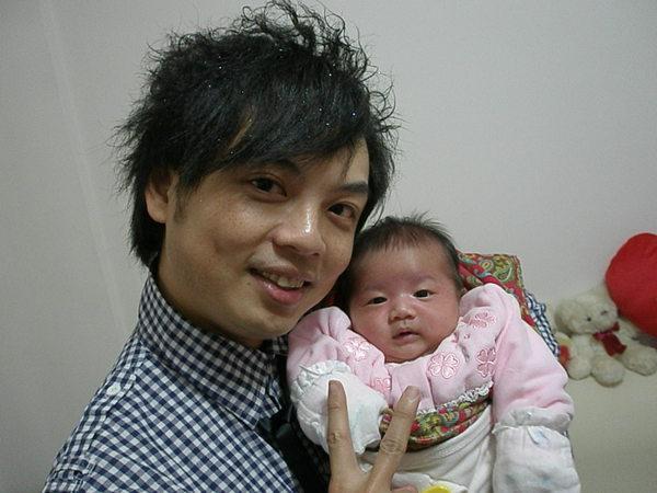 2008-02-26秝萓跟爸爸