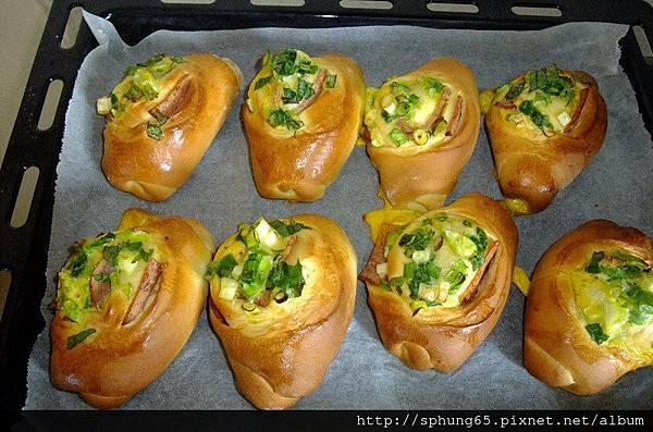 台式蔥花麵包
