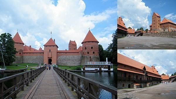 Trakai Island Castle, Lithuania 特拉凱湖中城堡, 立陶宛
