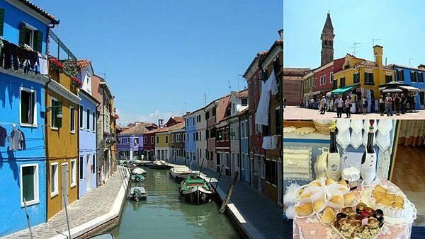 威尼斯 Venice Burano蕾絲島