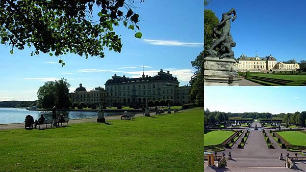 Drottningholm 瑞典皇室居住的地方