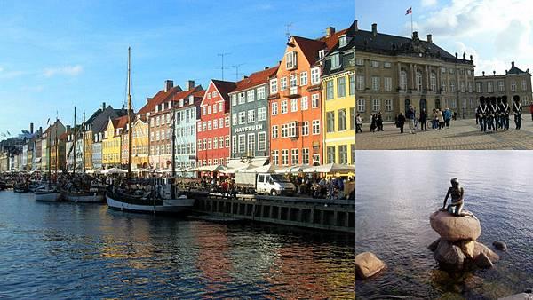 Copenhagen/København 哥本哈根 小美人魚的故鄉