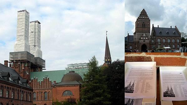 Rosklide 包尿布的大教堂(世界遺產) 丹麥歷代國王皇后長眠於此