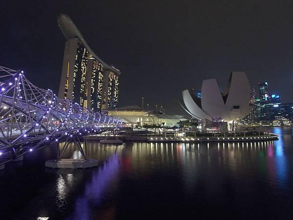 新加坡金沙酒店:外觀