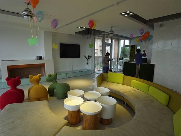 宜蘭縣羅東鎮調色盤築夢會館:客廳 (2)