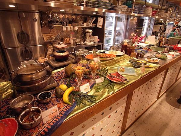 日本大阪市DAIMARU梅田店14階 大丸エキウエダイニング美食区:シンガポール シーフード リパブリック (7)