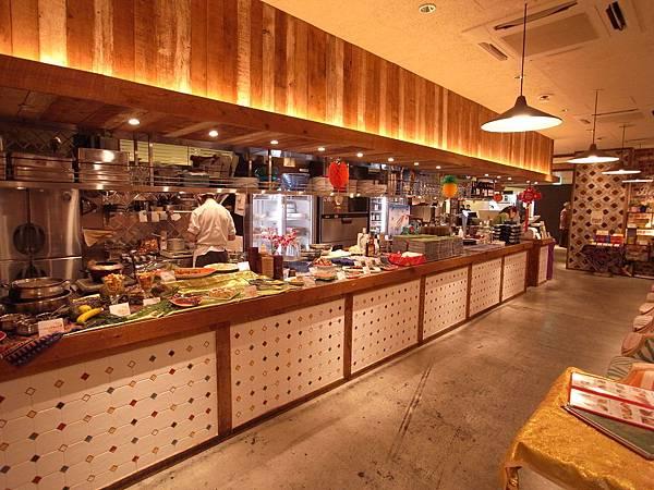 日本大阪市DAIMARU梅田店14階 大丸エキウエダイニング美食区:シンガポール シーフード リパブリック (17)