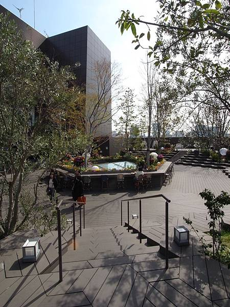 日本東京都東急プラザ 表参道原宿:STARBUCKS+おもはらの森 (1)
