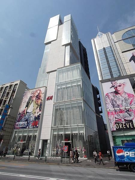 日本東京都H&Mビル (2)