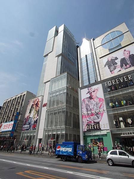 日本東京都H&Mビル (3)