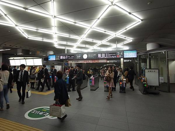 日本東京都東京メトロ渋谷駅 (11)