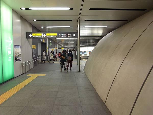 日本東京都東京メトロ渋谷駅 (17)