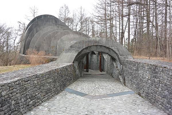 日本長野県石の教会 内村鑑三記念堂 (22)