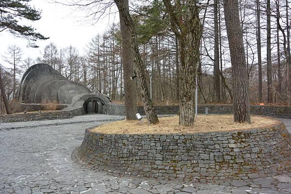 日本長野県石の教会 内村鑑三記念堂 (23)
