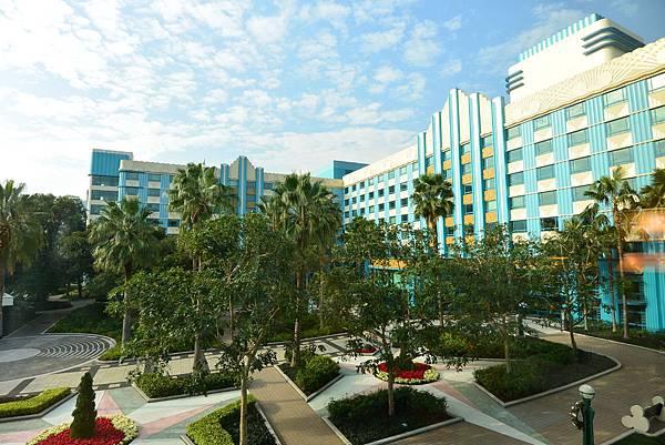 香港迪士尼好萊塢酒店:園林景觀客房 (6).JPG