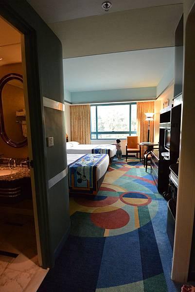 香港迪士尼好萊塢酒店:園林景觀客房 (9).JPG