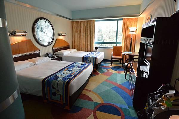 香港迪士尼好萊塢酒店:園林景觀客房 (10).JPG