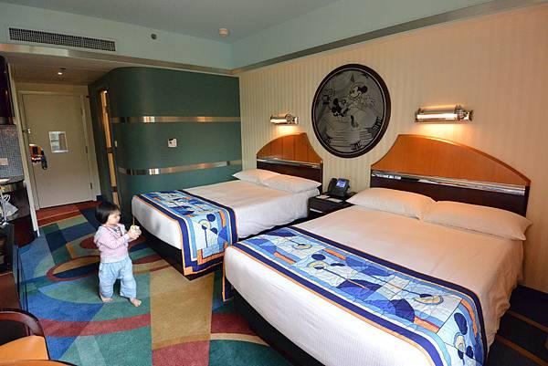 香港迪士尼好萊塢酒店:園林景觀客房 (11).JPG