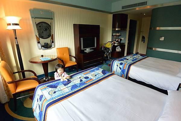 香港迪士尼好萊塢酒店:園林景觀客房 (12).JPG