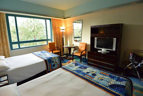 香港迪士尼好萊塢酒店:園林景觀客房 (13).JPG