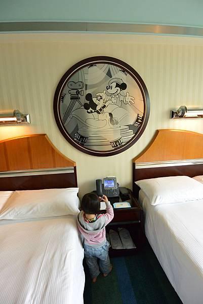 香港迪士尼好萊塢酒店:園林景觀客房 (14).JPG