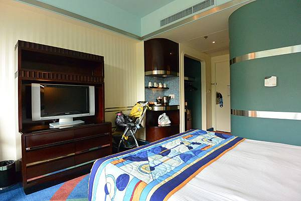 香港迪士尼好萊塢酒店:園林景觀客房 (16).JPG