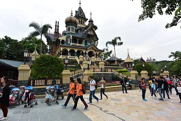 香港迪士尼樂園:迷離莊園 (3).JPG