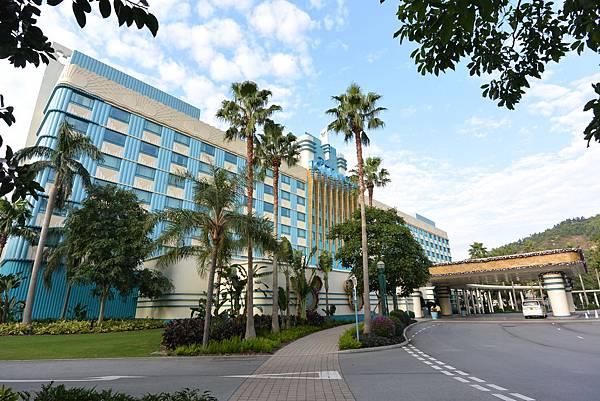 香港迪士尼好萊塢酒店:外觀+公共空間2 (1).JPG