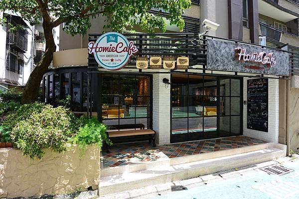 台北市HOMIE CAFE新美式餐廳 (4).JPG