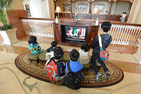 日本千葉県浦安市東京ディズニーランドホテル:ロビー (5).JPG