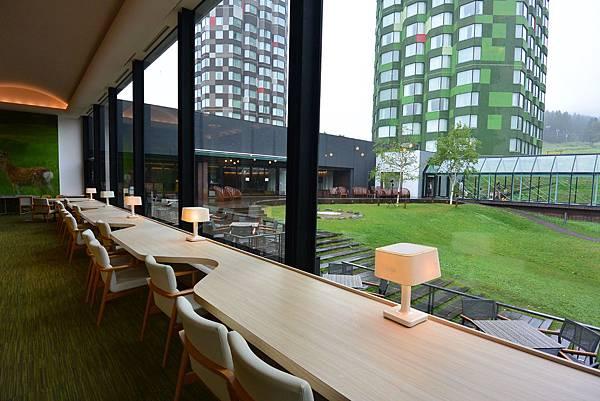 日本北海道勇払郡星野リゾートトマム:Cafe Lounge yukku yukku (1).JPG