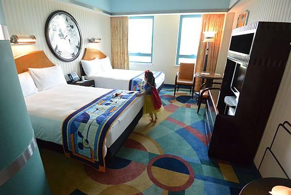 香港迪士尼好萊塢酒店:標準客房 (1).JPG