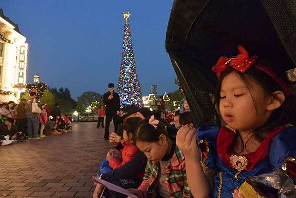 香港迪士尼樂園:《魔雪奇緣》聖誕亮燈禮 (3).JPG