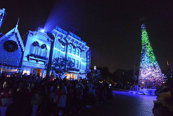 香港迪士尼樂園:《魔雪奇緣》聖誕亮燈禮 (6).JPG