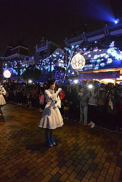 香港迪士尼樂園:《魔雪奇緣》聖誕亮燈禮 (7).JPG
