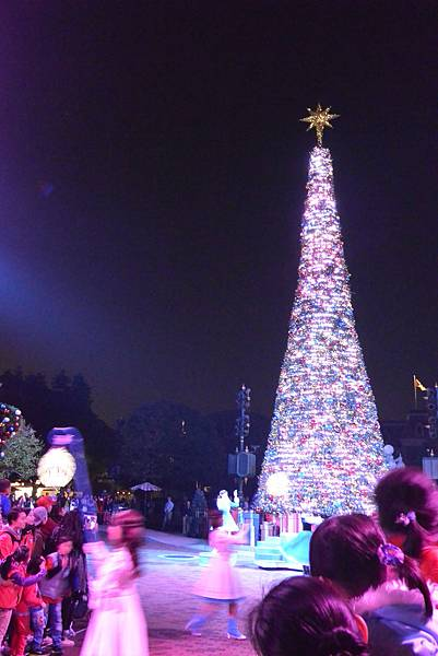 香港迪士尼樂園:《魔雪奇緣》聖誕亮燈禮 (20).JPG