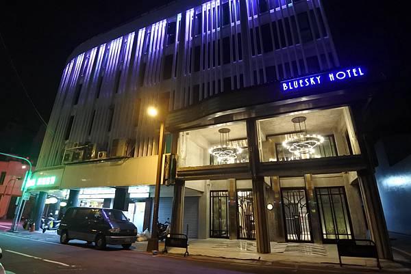 台中市BLUESKY HOTEL 藍天飯店:外觀 (7).JPG