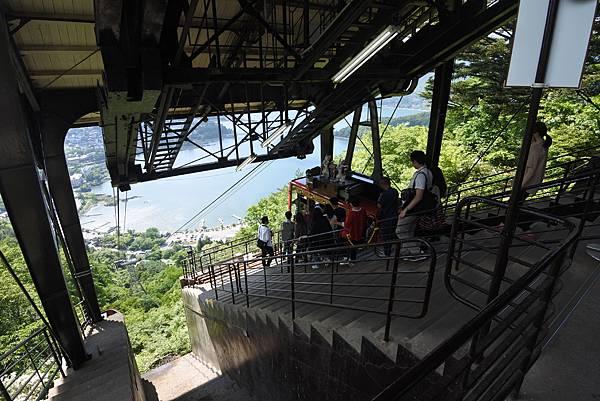 日本山梨県河口湖天上山公園 カチカチ山ロープウェイ (2).JPG
