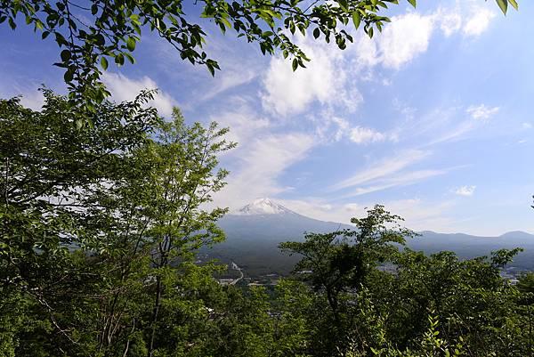 日本山梨県河口湖天上山公園 カチカチ山ロープウェイ (13).JPG