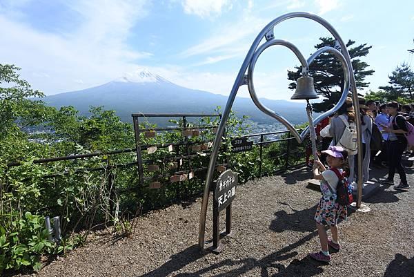 日本山梨県河口湖天上山公園 カチカチ山ロープウェイ (15).JPG