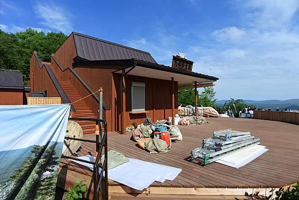 日本山梨県河口湖天上山公園 カチカチ山ロープウェイ (17).JPG