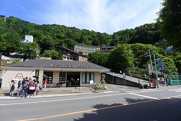 日本山梨県河口湖天上山公園 カチカチ山ロープウェイ (21).JPG
