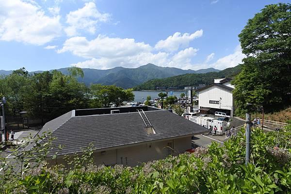 日本山梨県河口湖天上山公園 カチカチ山ロープウェイ (23).JPG
