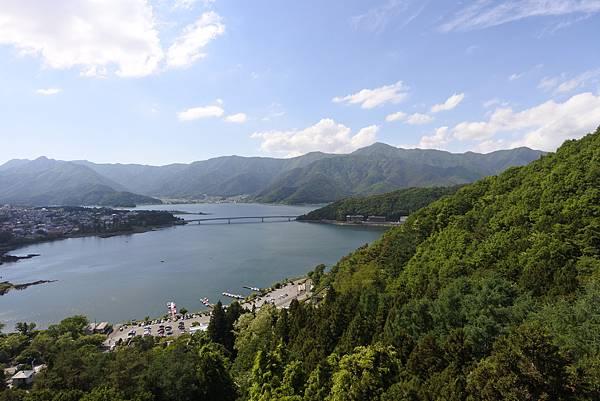 日本山梨県河口湖天上山公園 カチカチ山ロープウェイ (38).JPG