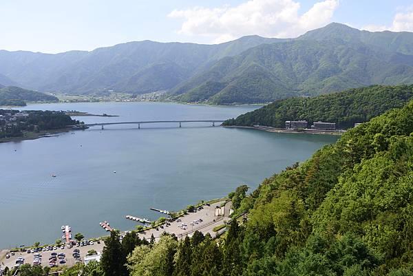 日本山梨県河口湖天上山公園 カチカチ山ロープウェイ (39).JPG